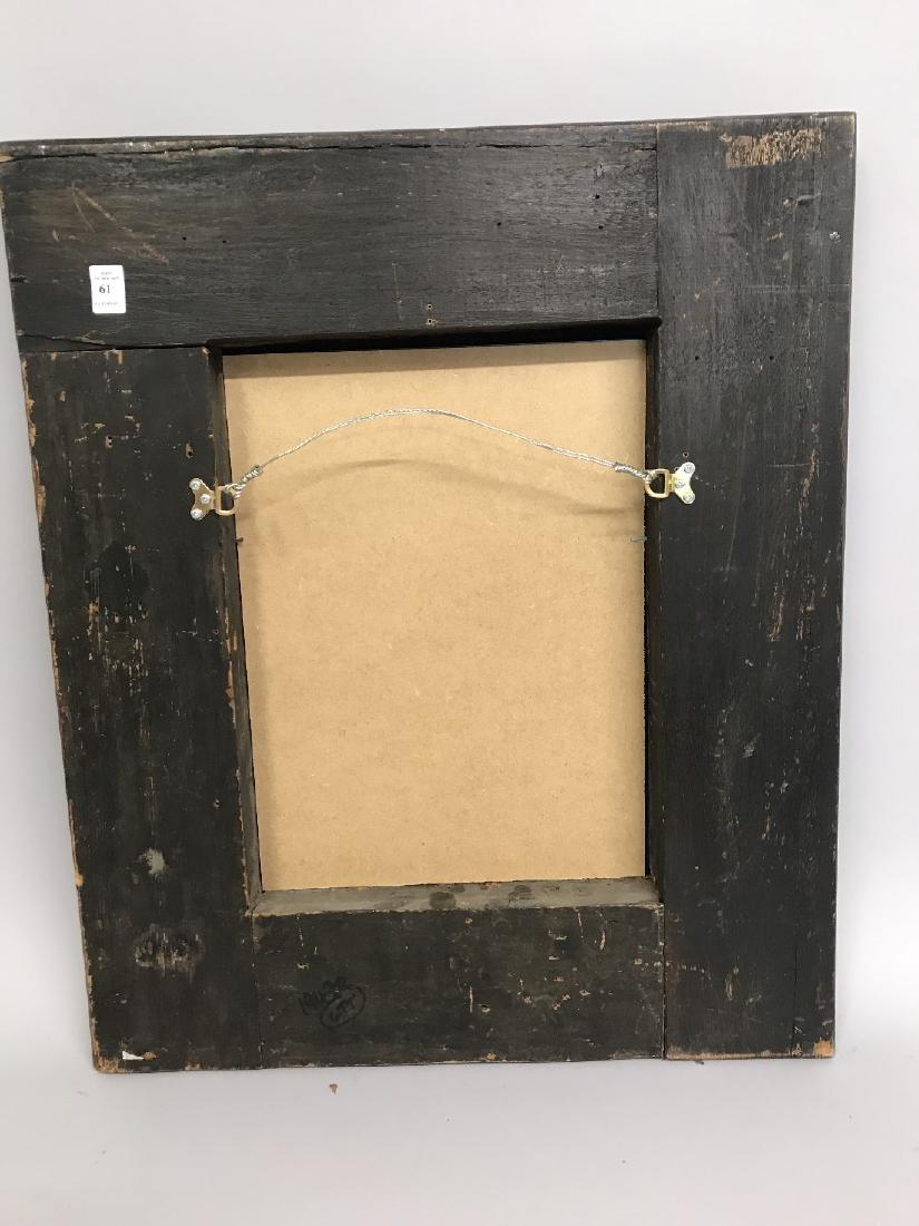 19th Century Dutch School. A Dark Wood Frame, with - 3