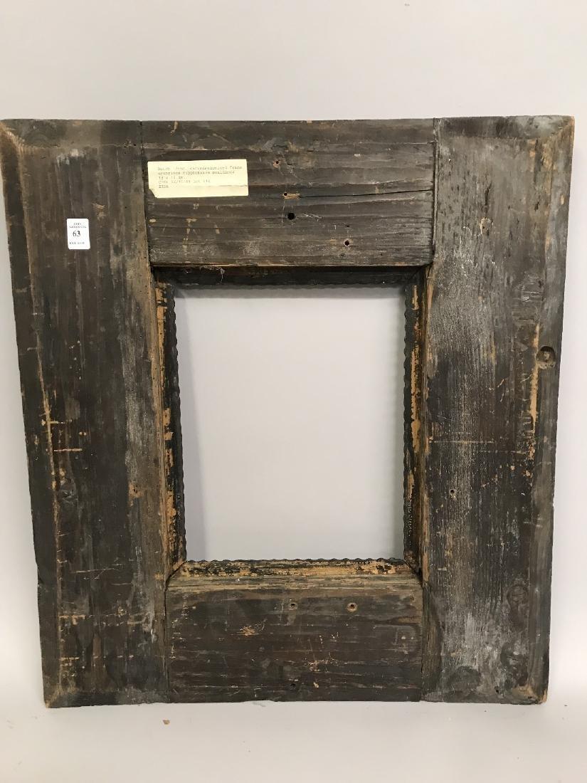 """18th Century Dutch School. A Dark Wood Frame, 13.5"""" x - 3"""