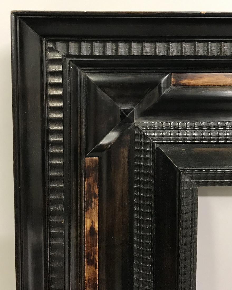 20th Century Dutch School. A Black Wood Frame, with