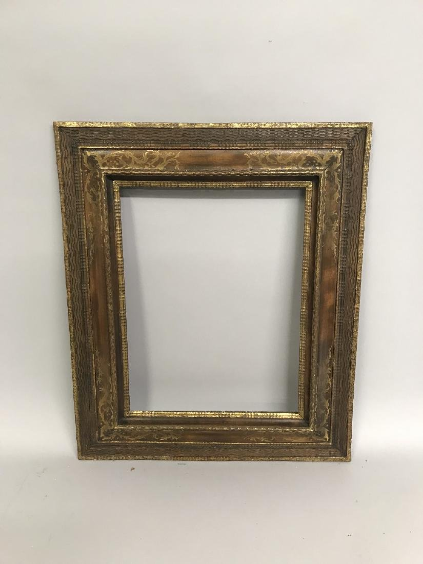 Late 19th Century Dutch School. A Stripped Frame, with - 2