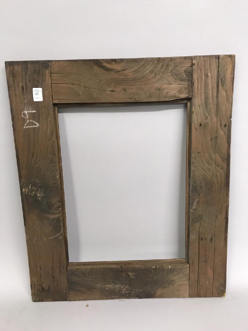 Late 19th Century Dutch School. A Stripped Frame, with - 3