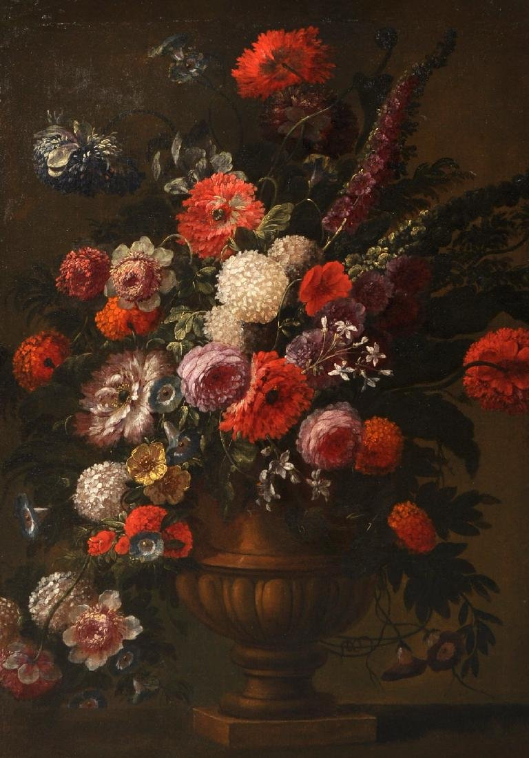 Early 18th Century Dutch School. Still Life of Flowers