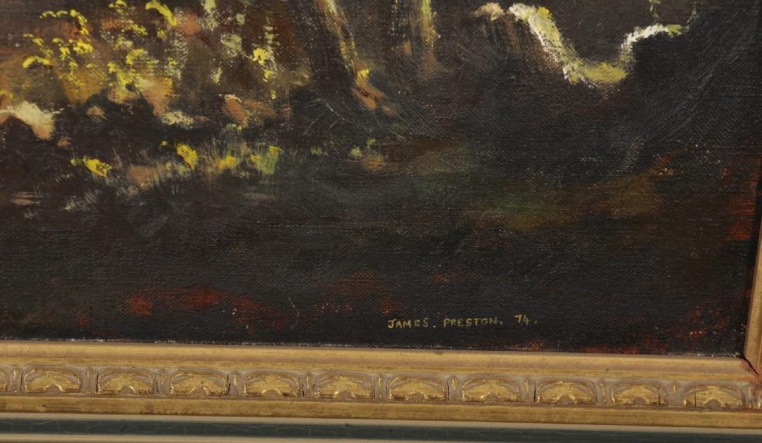 James Preston (20th Century) British. A River Landscape - 3