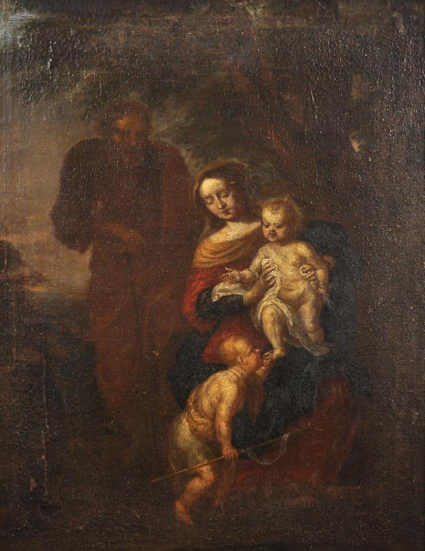 Early 18th Century Italian School. Madonna and Child