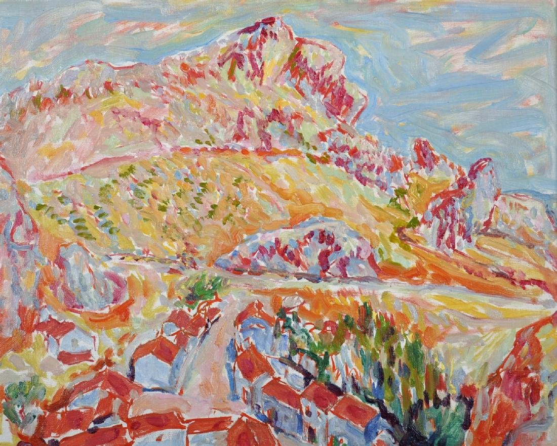 "Marian Kratochwil (1906-1997) Polish. ""Andalucia -"
