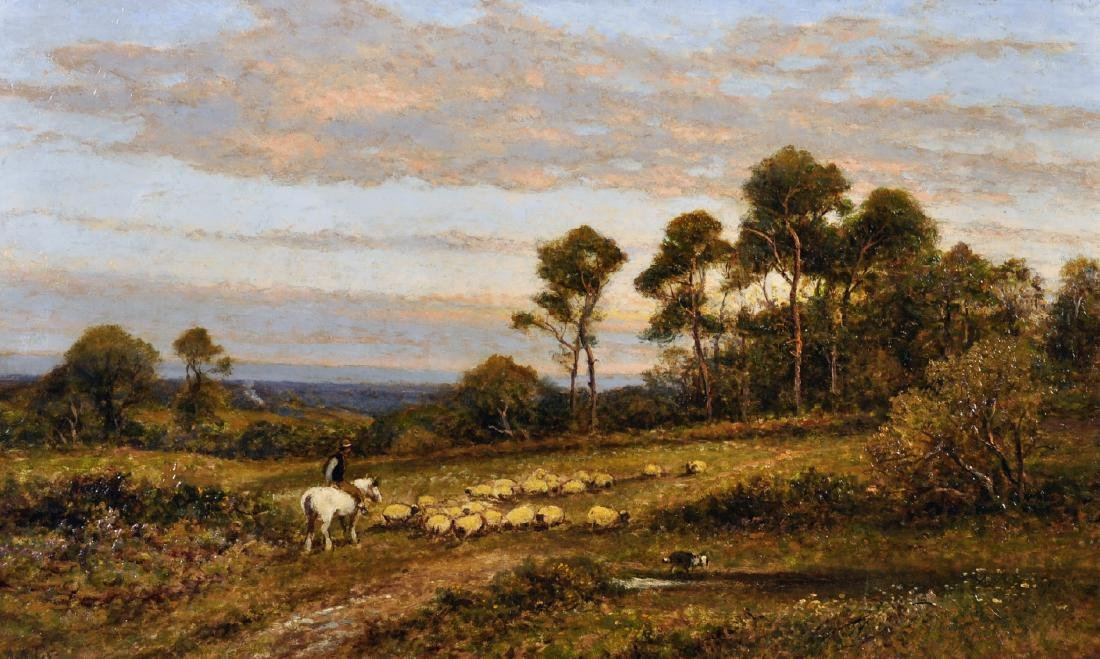 """Alfred Augustus Glendenning (c.1840-c.1910) British. """"A"""