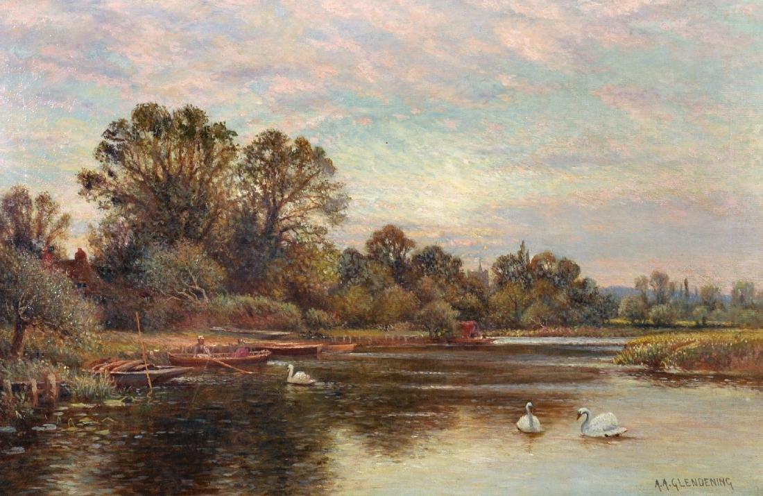 Alfred Augustus Glendenning (c.1840-c.1910) British. A