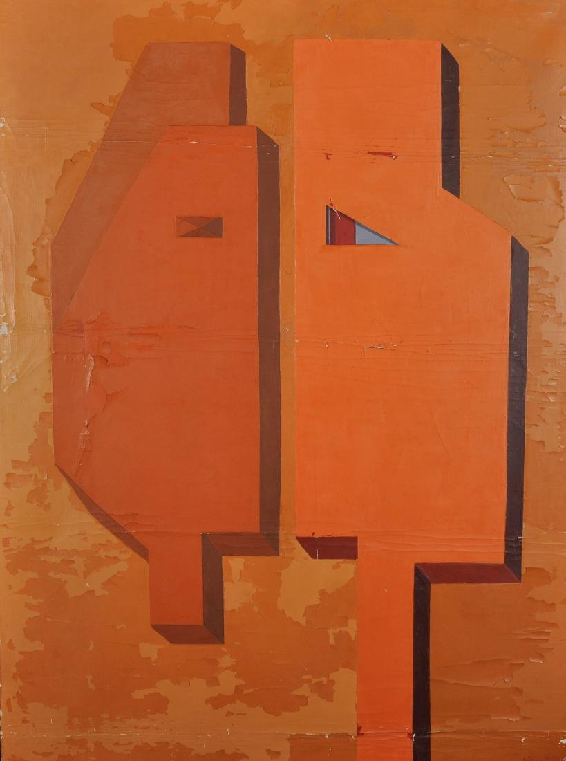 Andree Pollier (1916-2009) French. An Abstract