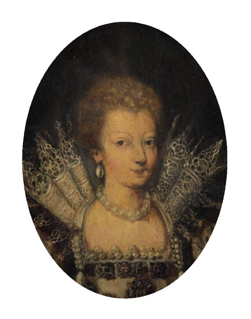 19th Century English School. Portrait of an Elizabethan