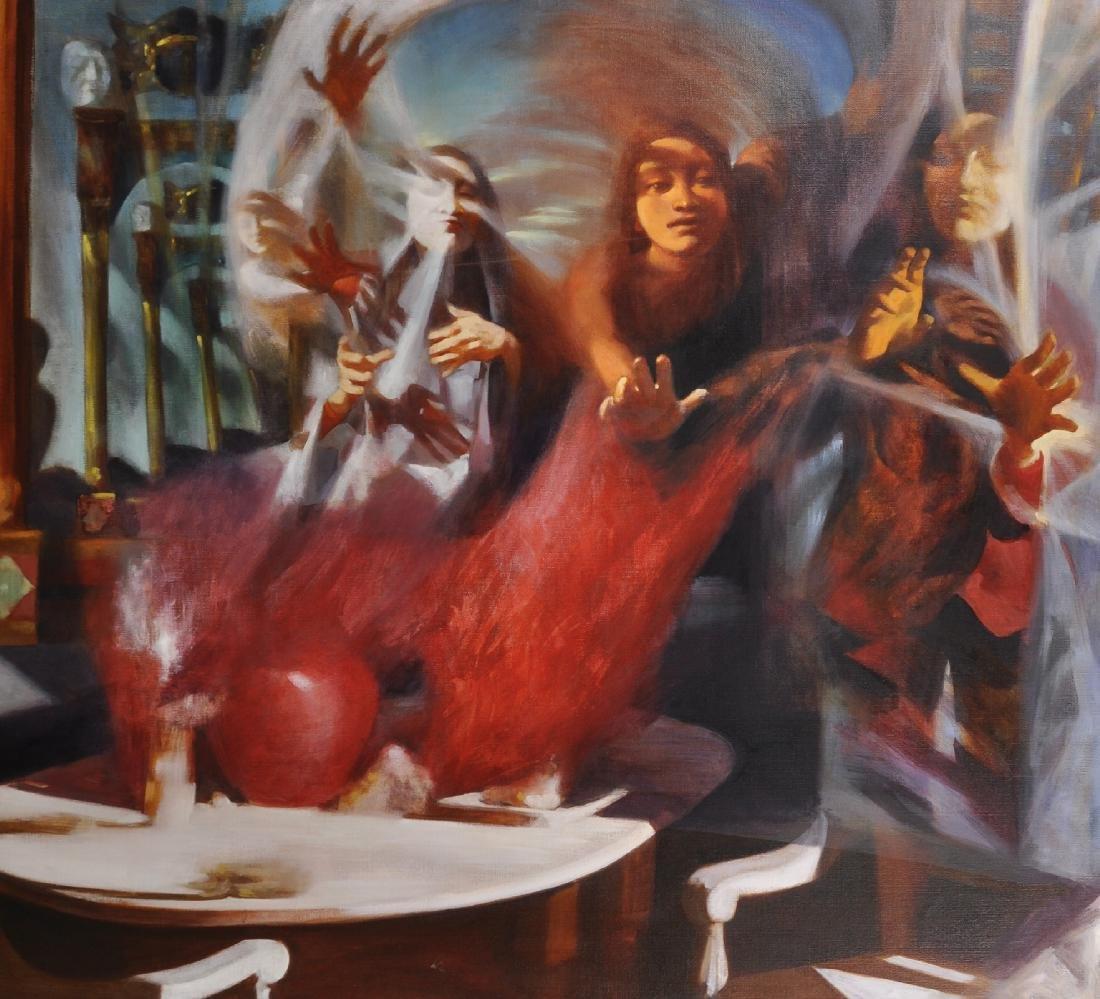 20th Century English School. A Surrealist Composition,