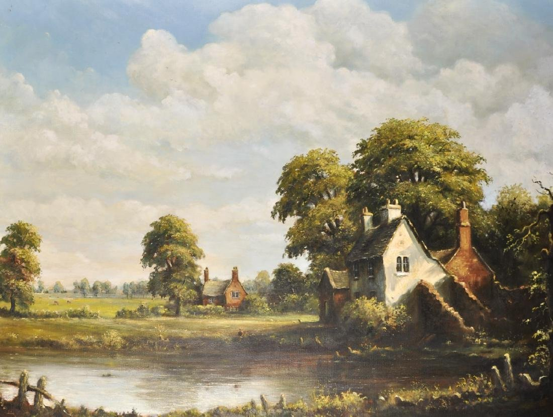 James Preston (20th Century) British. A River Landscape