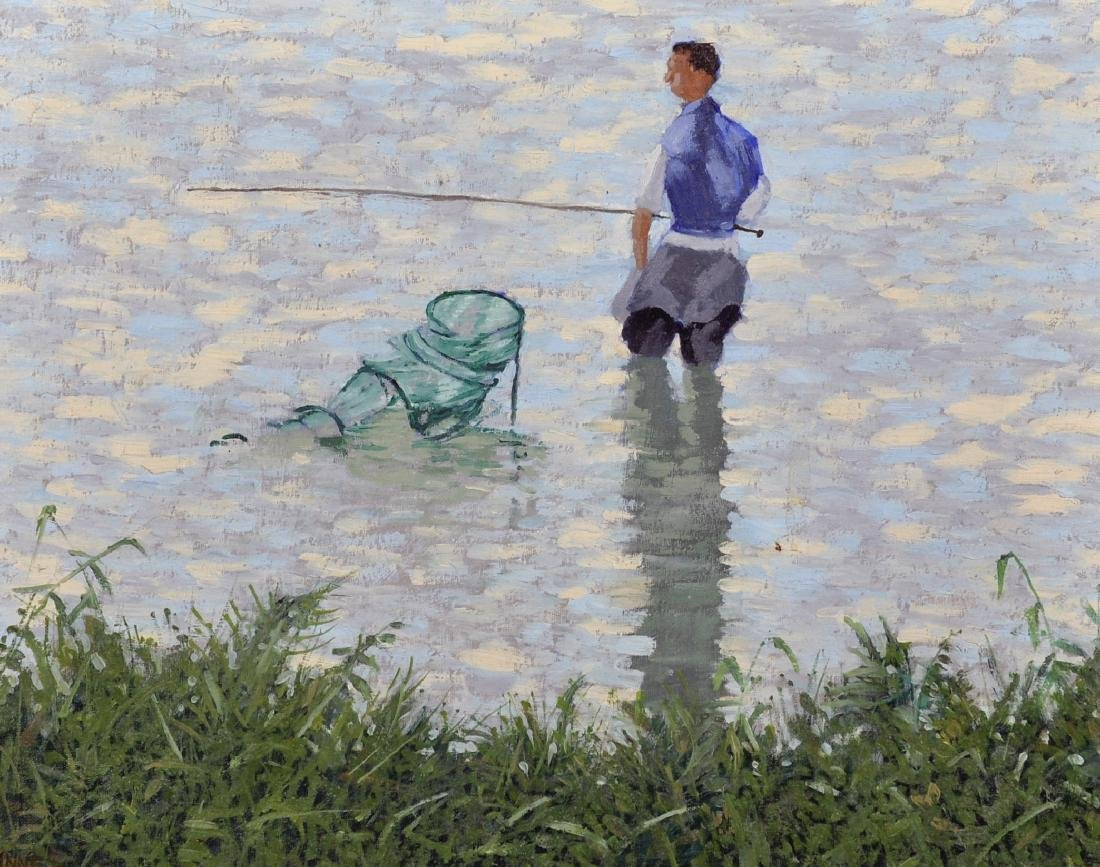 "William Henry Innes (1905-1999) British. ""River"