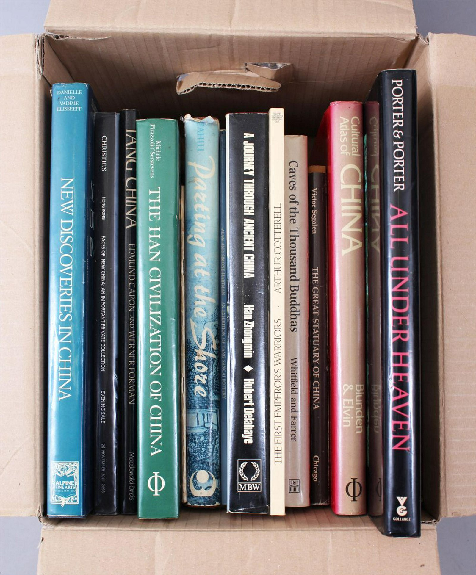 A MIXED LOT OF THIRTEEN CHINESE REFERENCE BOOKS,