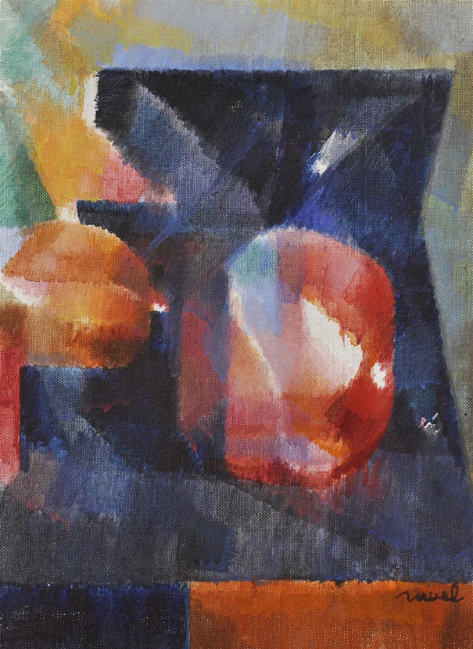 Daniel Ravel (1915-2002) Belgian/American. Abstract