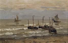 Adrien Le Mayeur de Merpres (1844-1923) Belgian. A