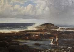 Richard Wane (1852-1904) British. A Highland Coastal