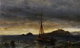 Louis Johan Hendrik Meijer (1809-1866) Dutch. A Man