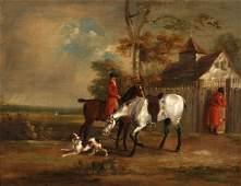 Circle of Francis Sartorius (1734-1804) British. A
