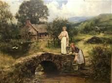 Henry John Yeend King 18551924 British Two Young