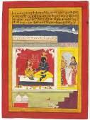 A GOOD 19TH / 20TH CENTURY INDO PERSIAN MUGHAL ART HAND
