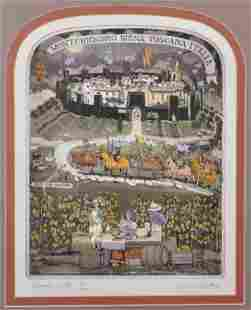 Graham Clarke 1941 British Chianti Dante