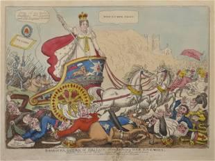John Fairburn 19th Century British Boadicea Queen