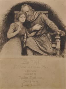 Hubert von Herkomer 18491914 British An Idyl