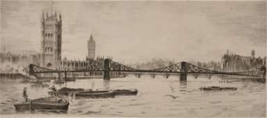 "J... H... Wily (19th - 20th Century) British. ""Lambeth"