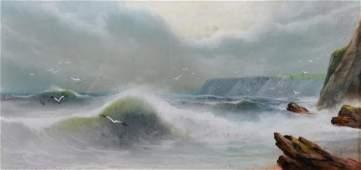 A Groking 20th Century European A Coastal Scene