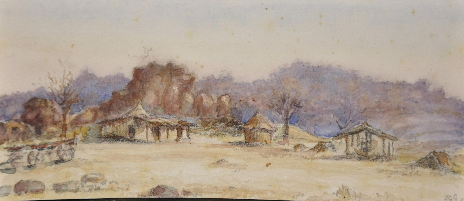 Frederick G... Green (19th - 20th Century) British.