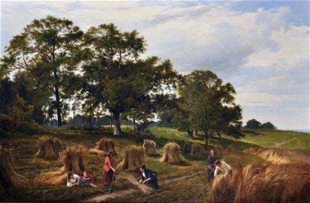 "Sidney Richard Percy (1821-1886) British. ""Landscape"