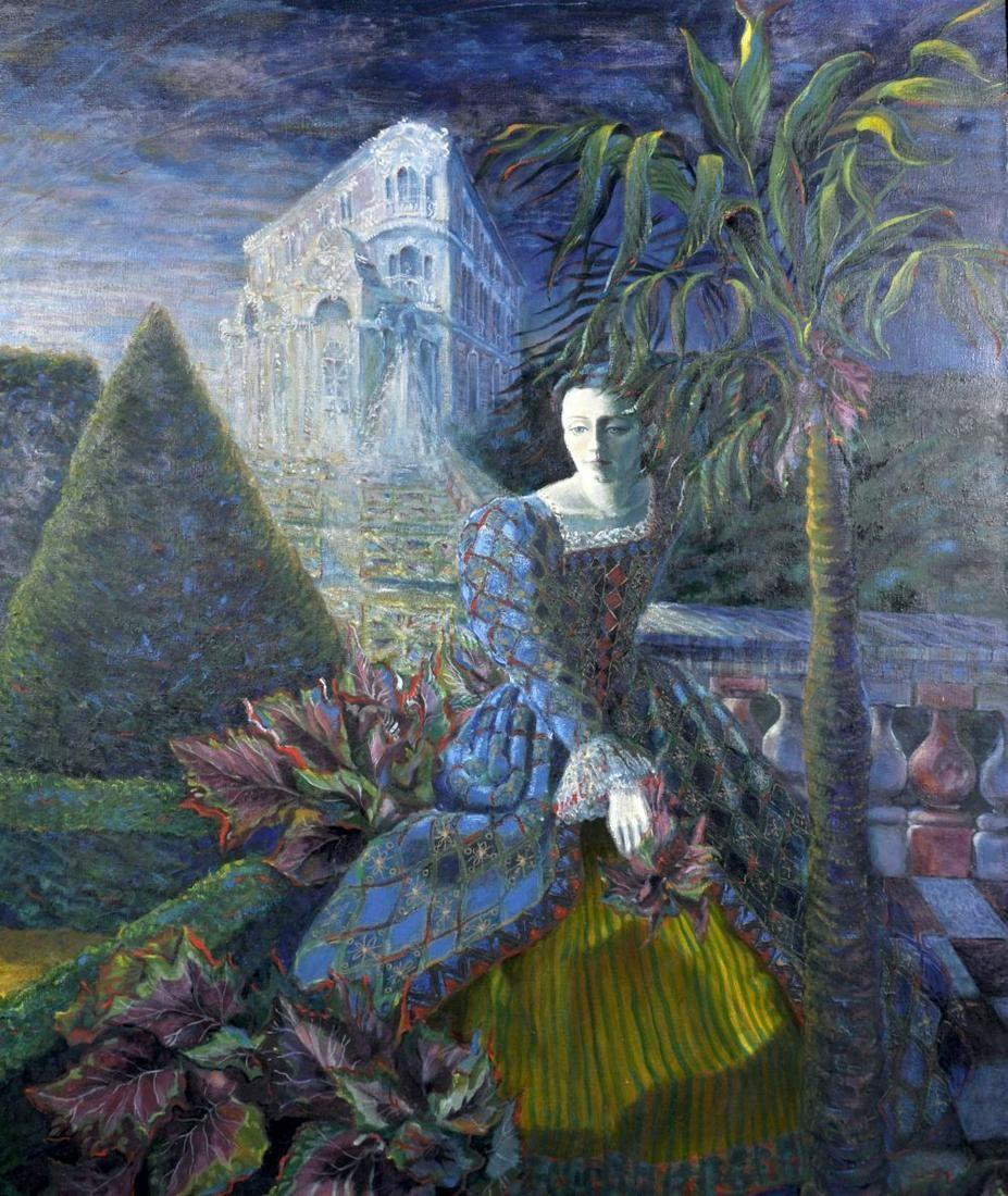 Tempest (20th Century) European. Study of an Elegant