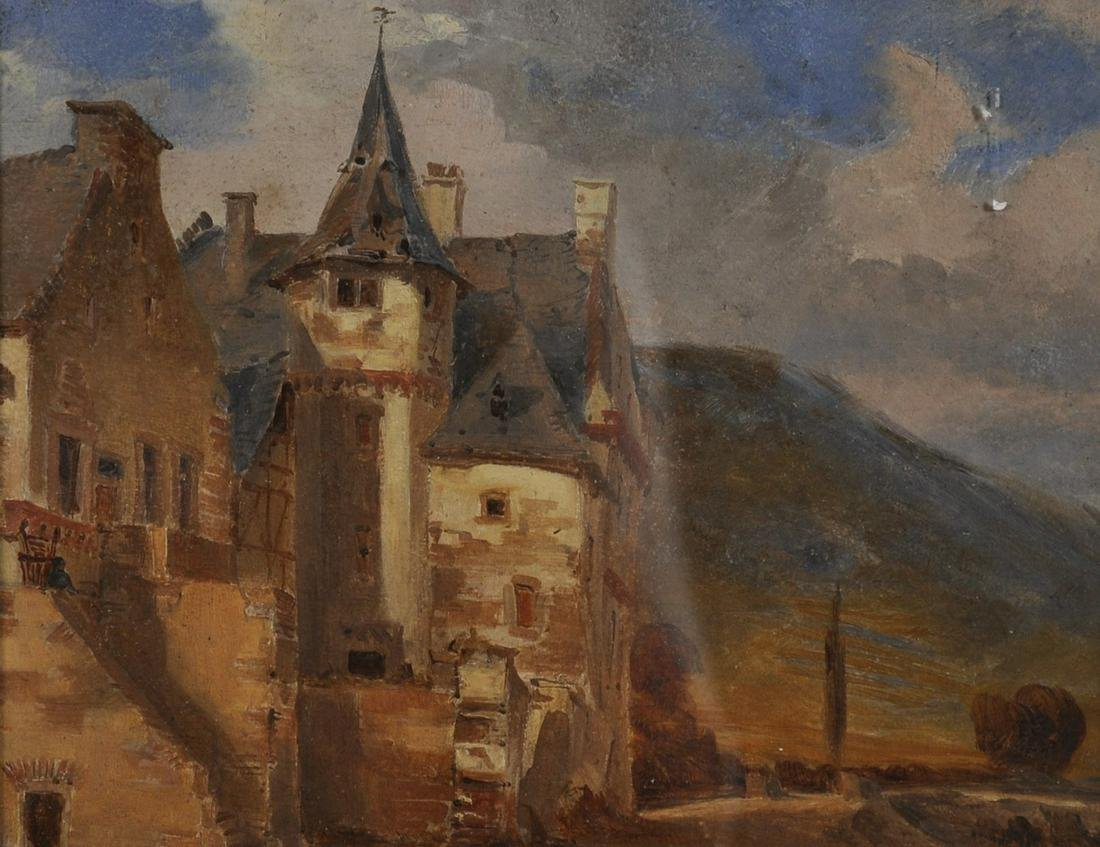 French Late 19th Century French School. View of a