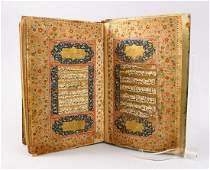 AN EARLY 18TH CENTURY INDO PERSIAN KASHMIRI QURAN