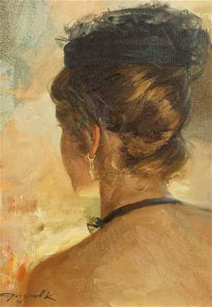 Konstantin Razumov (b.1974) Russian, 'Portrait Of