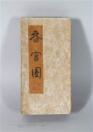 A CHINESE EROTIC BOOK.