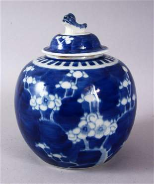 A 19TH / 20TH CENTURY CHINESE BLUE & WHITE PORCELAIN