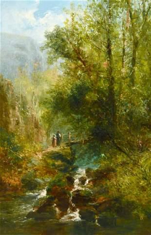William Widgery (1822-1893) British, Figures