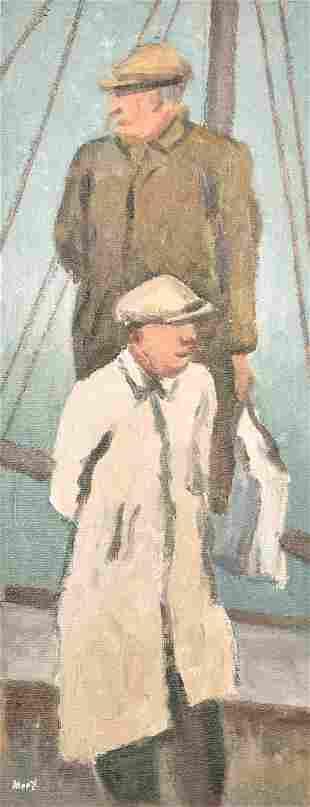 Marjorie Mort (1906-1988) British, 'Ready for Sea,