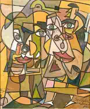 Joseph Dubiel Von LeRach (b.1951) Czech, A Cubist