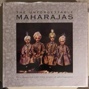 'THE UNFORGETTABLE MAHARAJAS' by Jaiwant Paul, with