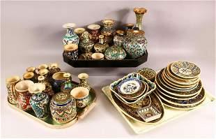 A VERY LARGE COLLECTION OF VARIOUS TURKISH KUTAHIYA