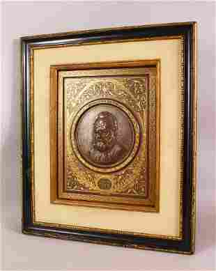 A FINE AND RARE 19TH CENTURY SPANISH TOLEDO GOLD INLAID