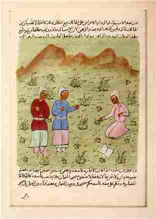 A COLLECTION OF NINE INDIAN MINIATURE PAINTINGS,