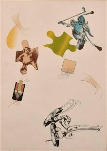 Colin Lanceley (1938-2015) Australian, 'Strangulation',