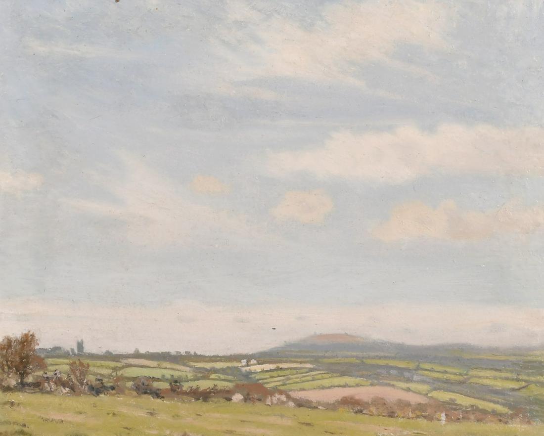 Robert Morson Hughes (1873-1953) British, Rural