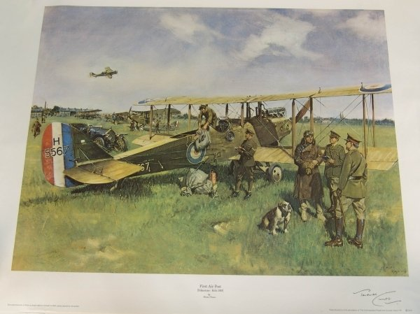 1304: TERENCE CUNEO (1907-1996) BRITISH. Colour print,