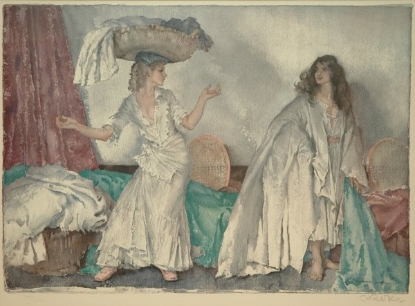 708B: SIR WILLIAM RUSSELL FLINT