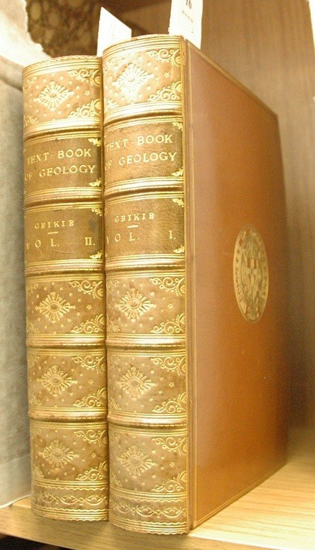 16C: GEIKIE (Sir A.), Text-Book of Geology, 2 vols., 8v