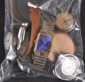 A STOP WRISTWATCH And SIX OTHER VARIOUS WATCHES (7
